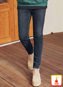 22525 - 2type Soft Bonding napping Jeans <br> <font style=font-size:11px;color:#595959>28/30/32/34</font> <br>