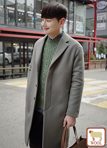 20653 - primium hidden wool coat <br> (3 size)
