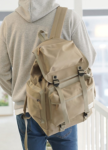 22546 - Kevin Button large BackPack <br>