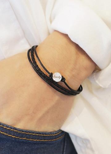 22583 - Love triple bracelet <br>