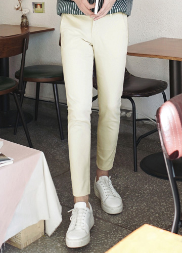 20904 - 8Color Span Cotton Pants <br> <font style=font-size:11px;color:#595959>S ~ XL (28 ~ 34)</font> <br>