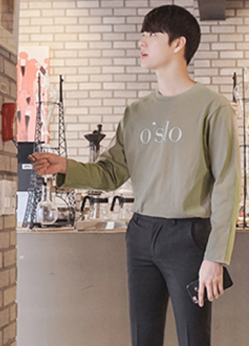 22603 - Oslo 10-can cotton long sleeve tee <br> <font style=font-size:11px;color:#595959>Free (95 ~ 105)</font> <br>