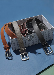 22737 - Span Long Leather Belt <br>