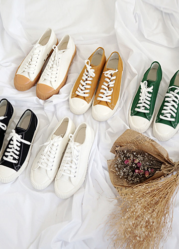 22744 - Jed Canvas Sneakers <br> <font style=font-size:11px;color:#595959>230mm ~ 280mm</font> <br>