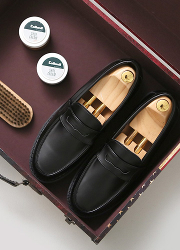 22941 - <b>5cm high-level shoes</b> <br> Del Lo Basic Loafers <br> <font style=font-size:11px;color:#595959>250mm ~ 280mm</font> <br>