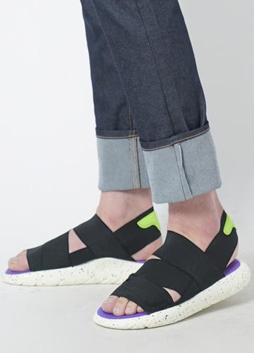 22945 - <b>4cm high-level shoes</b> <br> Space Banding Sandals <br> <font style=font-size:11px;color:#595959>230mm ~ 270mm</font> <br> <font color=#ff0000><b>[Man and woman couple]</b></font> <br>