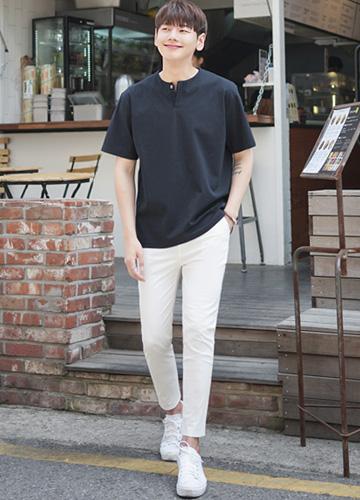 23011 - Coordinate SET57 T-shirt + banding pants <br> <font style=font-size:11px;color:#595959>M-4XL (95 to 120)</font> <br>
