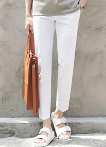 23044 - Cooling Linen Cotton Pants <br> <font style=font-size:11px;color:#595959>28/30/32/34</font> <br>