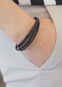 23088 - Monday layered bracelet <br>