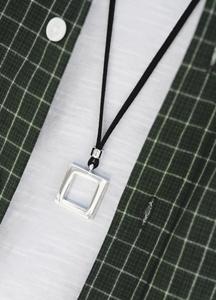 23089 - Square Surge Necklace <br>