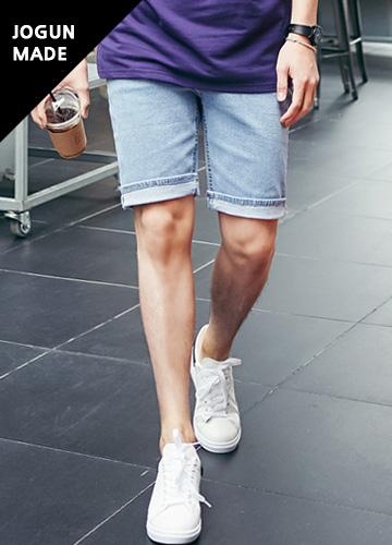 23057 - Summer Banding Span denim shorts <br> <font style=font-size:11px;color:#595959>28/30/32/34/36</font> <br>