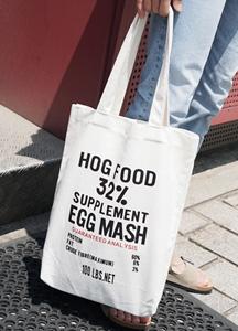 23200 - Mesh lettering Eco Bag <br>