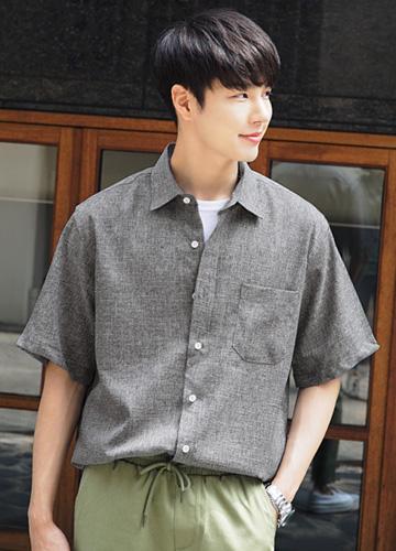23220 - Rinkleys Bocashi Short-sleeve Shirt <br> <font style=font-size:11px;color:#595959>Free (95 ~ 105)</font> <br>
