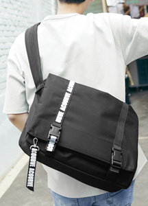 23289 - Lettering Pad Messenger Bag <br>