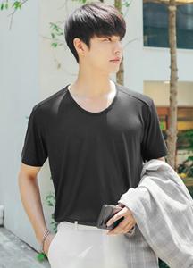 23295 - Soft shoulder line Basic Short T shirts <br> <font style=font-size:11px;color:#595959>Free (95 ~ 105)</font> <br>