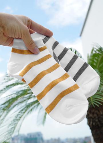 23314 - RINGLE Stripe Ankle Socks <br>