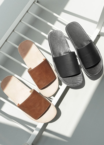 23356 - Lumpen Leather Slippers <br> <font style=font-size:11px;color:#595959>250mm ~ 280mm</font> <br>