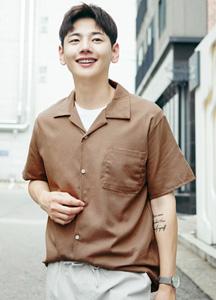 23364 - Daily Linen Open Kara Shirt <br> <font style=font-size:11px;color:#595959>Free (95 ~ 105)</font> <br>