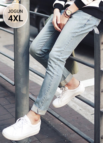 22669 - Use Span Cutting Jeans <br> <font style=font-size:11px;color:#595959>S ~ 4XL (28 ~ 40)</font> <br>