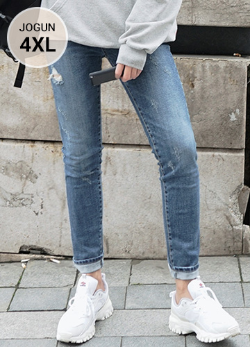 23497 - All-around Washing Spandex denim jeans <br> <font style=font-size:11px;color:#595959>S ~ 4XL (28 ~ 40)</font> <br>
