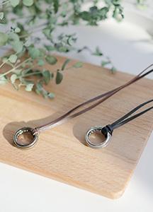 23606 - Bumper ring Necklace <br><br>
