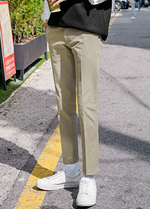 23641 - Maiden Cotton Slacks <br> <font style=font-size:11px;color:#595959>48 ~ 52 (28 ~ 32)</font> <br>