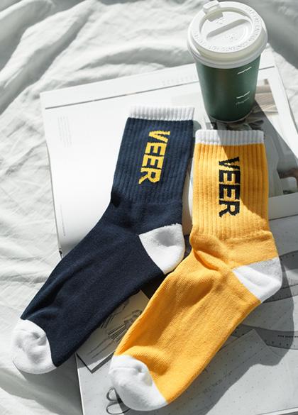 23774 - Beer color combination Sporty Socks <br><br>