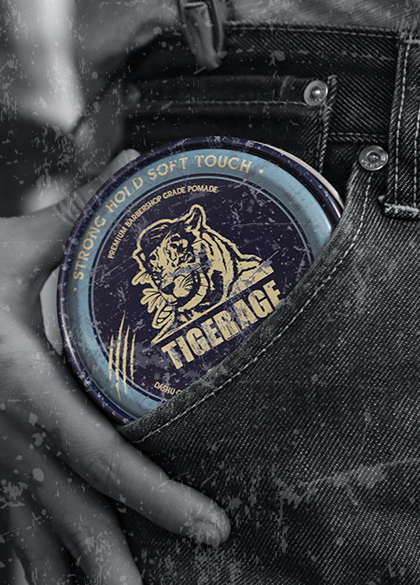 23888 - Classic Tiger Rage Water Pomade <br><br>