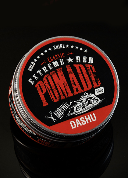 14715 - Dash Classic Extreme <br> Red Pomade 100ml <br>