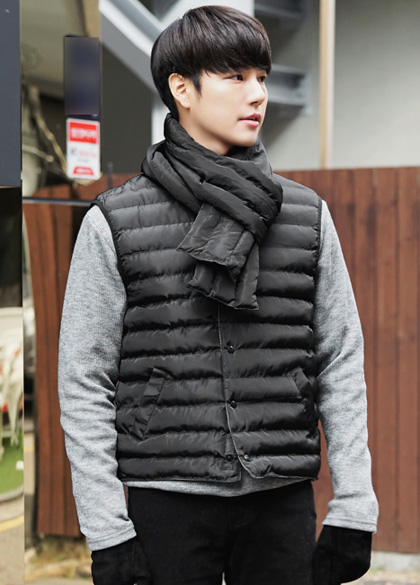 24023 - Wellon lightweight padded vest <br> <font style=font-size:11px;color:#595959>L to XL (95 to 105)</font> <br>