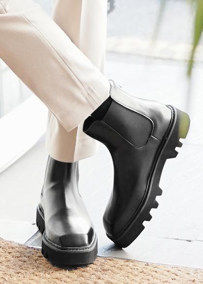 24047 - Chelsea Cowhide Boots <br> <font style=font-size:11px;color:#595959>250mm ~ 280mm</font> <br>