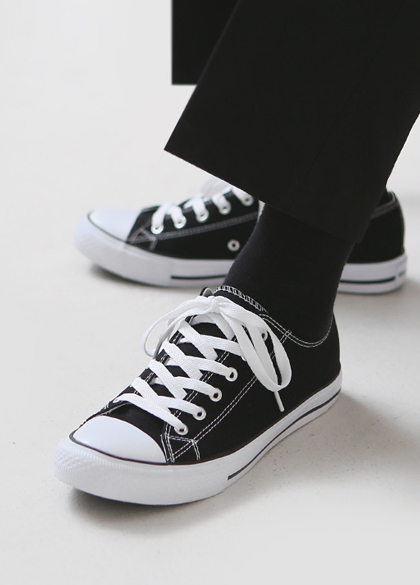 24225 - Casual Canvas Sneakers <br> <font style=font-size:11px;color:#595959>230mm ~ 280mm</font> <br>