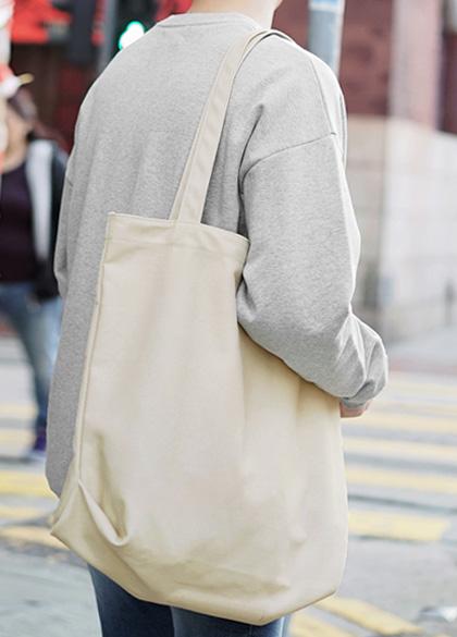 24282 - Big size plain Eco Bag <br><br>