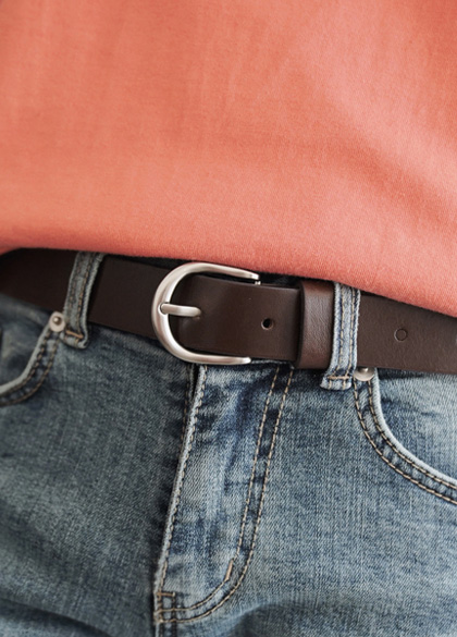 24429 - Real Round Binch Belt <br><br>