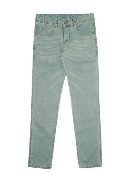 24526 - Yellow stitch denim pants <br> <font style=font-size:11px;color:#595959>S ~ XL (28 ~ 34)</font> <br>