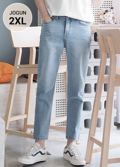24689 - Real catbrush tapered jeans <br> <font style=font-size:11px;color:#595959>S-2XL (28-36)</font> <br>