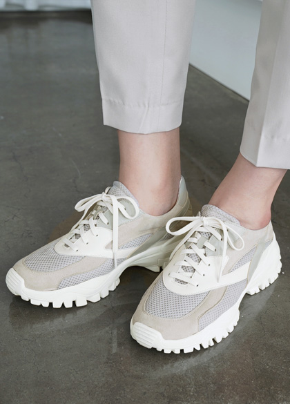 24816 - Tracy Mesh Sneakers <br> <font style=font-size:11px;color:#595959>240mm ~ 280mm</font> <br>