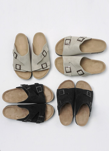 19575 - Bulls Buckle Slippers <br> (5 mm) <br> <font color=#ff0000><b>[Man and woman couple]</b></font> <br>