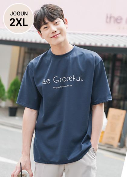 24753 - Graceful printing Short T shirts <br> <font style=font-size:11px;color:#595959>M-2XL (95-110)</font> <br>