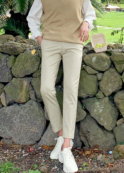 25083 - Nomel Basic Cotton Slacks <br> <font style=font-size:11px;color:#595959>48-52 (28-32)</font> <br>