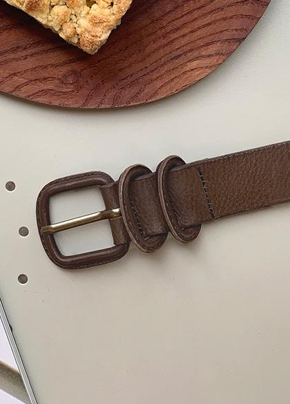 25167 - Autumn Tone Leather Belt <br><br>