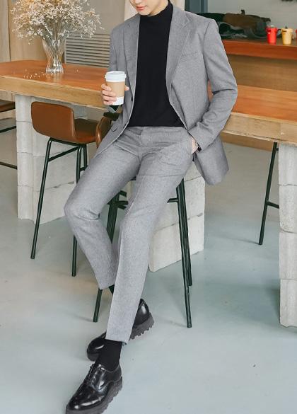 22569 - Terra Bocasie Suit Set <br> <font style=font-size:11px;color:#595959>S (90) / M (95) / L (100) / XL (105)</font> <br>